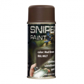 PINTURA SPRAY MILITAR FOSCO 150 ML. MARRON