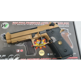 M9 A1 FULL METAL DESERT WE CO2