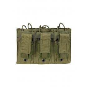 PORTACARGADOR TRIPLE PARA M4/M16/AR15 DRAGONPRO OD