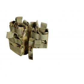 PORTACARGADOR PARA 4 CARGADORES M4/M16/AR15 DRAGONPRO MULTICAM