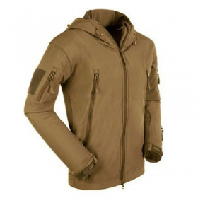 CHAQUETA SOFTSHELL TAN