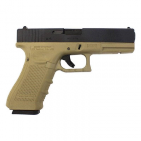 GLOCK 17 GEN4 GBB TAN WE