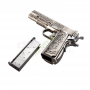 M1911 ETCHED FULL METAL GAS BLOWBACK WE