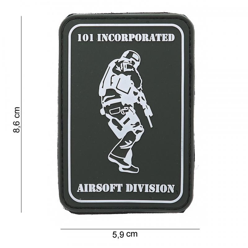 PARCHE PVC 101 INC AIRSOFT DIVISION