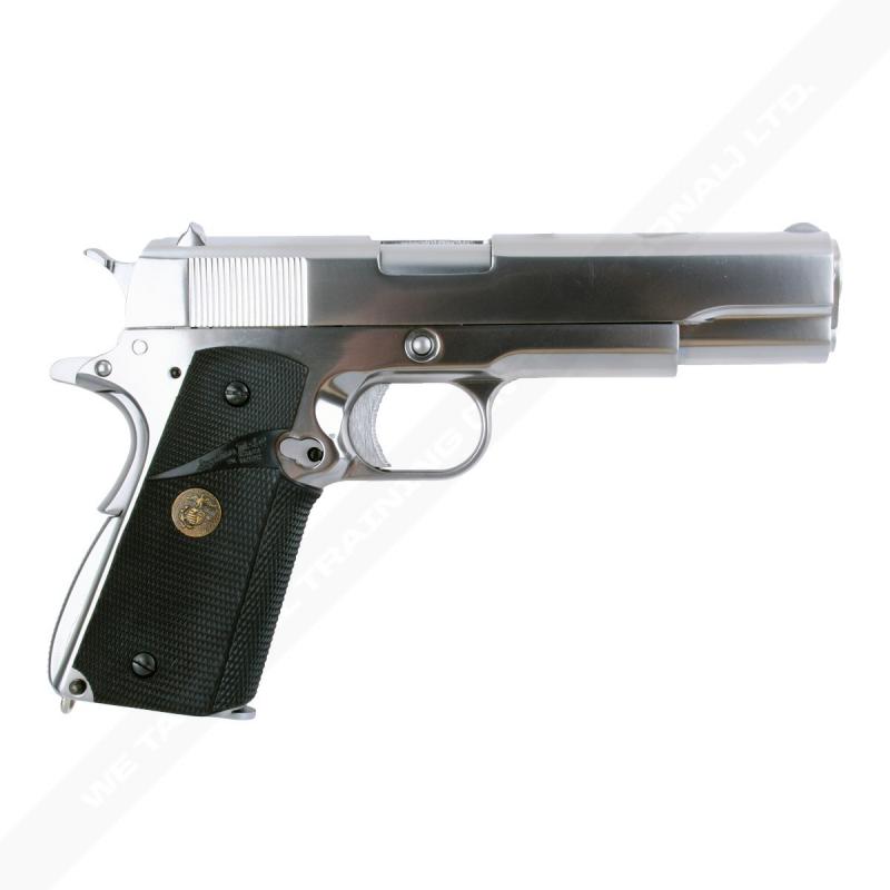 M1911 MEU SILVER FULL METAL WE