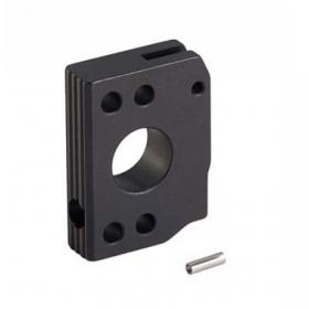 AIP ALUINUM TRIGGER (TYPE C) FOR HI-CAPA / Disparador de aluminio AIP (tipo C) NEGRO