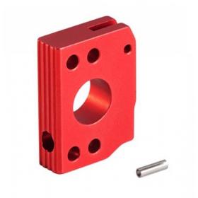 AIP ALUINUM TRIGGER (TYPE C) FOR HI-CAPA / Disparador de aluminio AIP (tipo C) ROJO