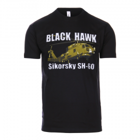 CAMISTA BLACK HAWK NEGRO