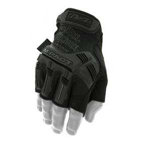 GUANTES MECHANIX M-PACT FINGERLESS NEGRO