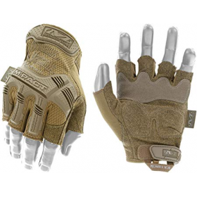 GUANTES MECHANIX M-PACT FINGERLESS TAN