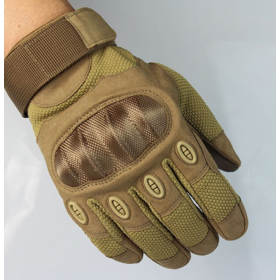 GUANTES TACTICOS A28 TAN