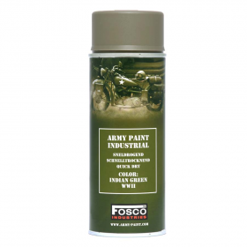 PINTURA SPRAY MILITAR FOSCO 400 ML. VERDE INDIAN