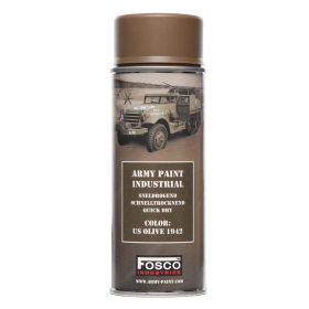 PINTURA SPRAY MILITAR FOSCO 400 ML. US OLIVE