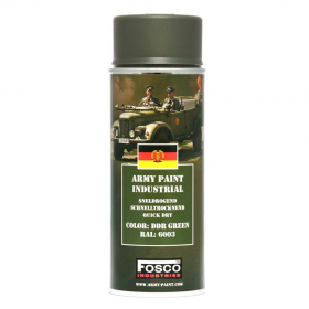 PINTURA SPRAY MILITAR FOSCO 400 ML. DDR GREEN