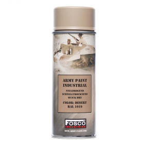 PINTURA SPRAY MILITAR FOSCO 400 ML. DESERT