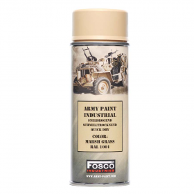 PINTURA SPRAY MILITAR FOSCO 400 ML. MARSH GRASS