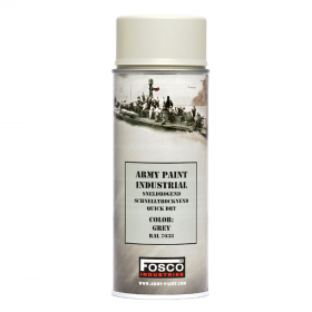 PINTURA SPRAY MILITAR FOSCO 400 ML. GRIS