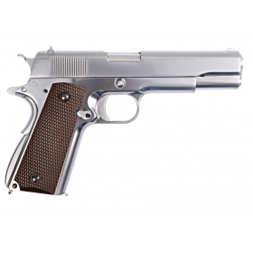 M1911 SILVER FULL METAL WE
