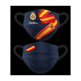 Acc. facial reversible Policia Nacional