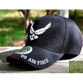 GORRA BEISBOL AIR FORCE NEGRO