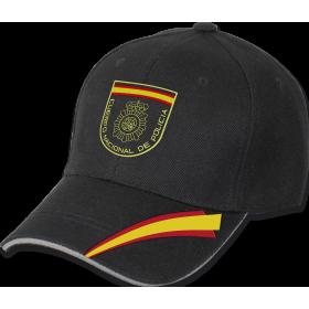 GORRA BEISBOL POLICIA NACIONAL NEGRO